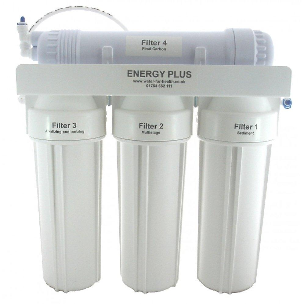 Filtro de agua Energía Plus para grifo