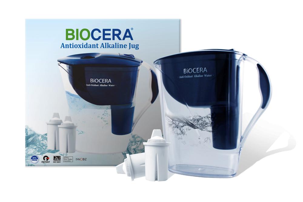 Biocera Jug + 5 Filters
