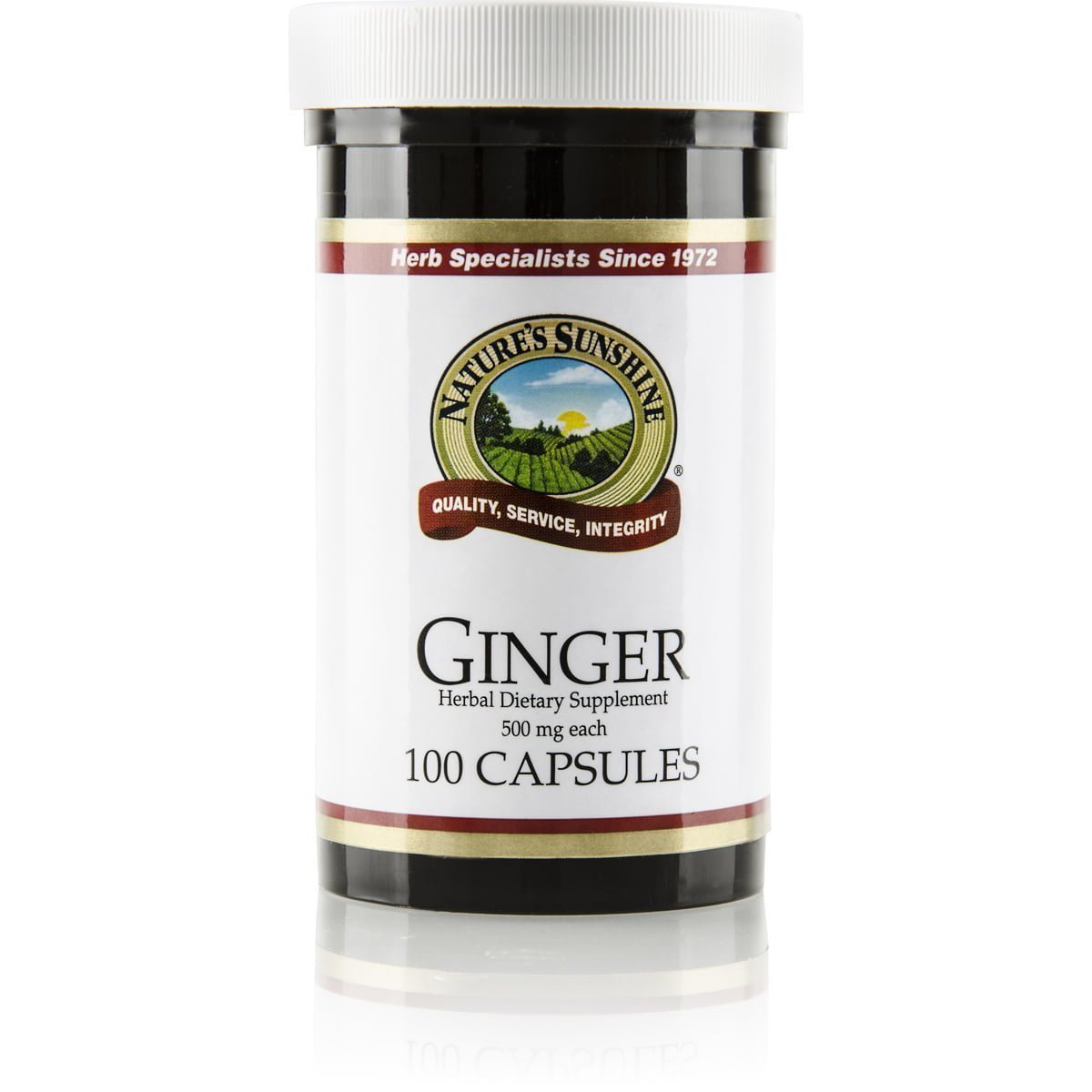 Ginger: Calms and relieves upset stomach