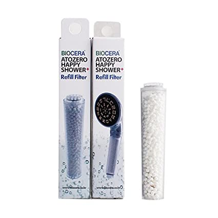 Biocera replacement filter Happy shower head