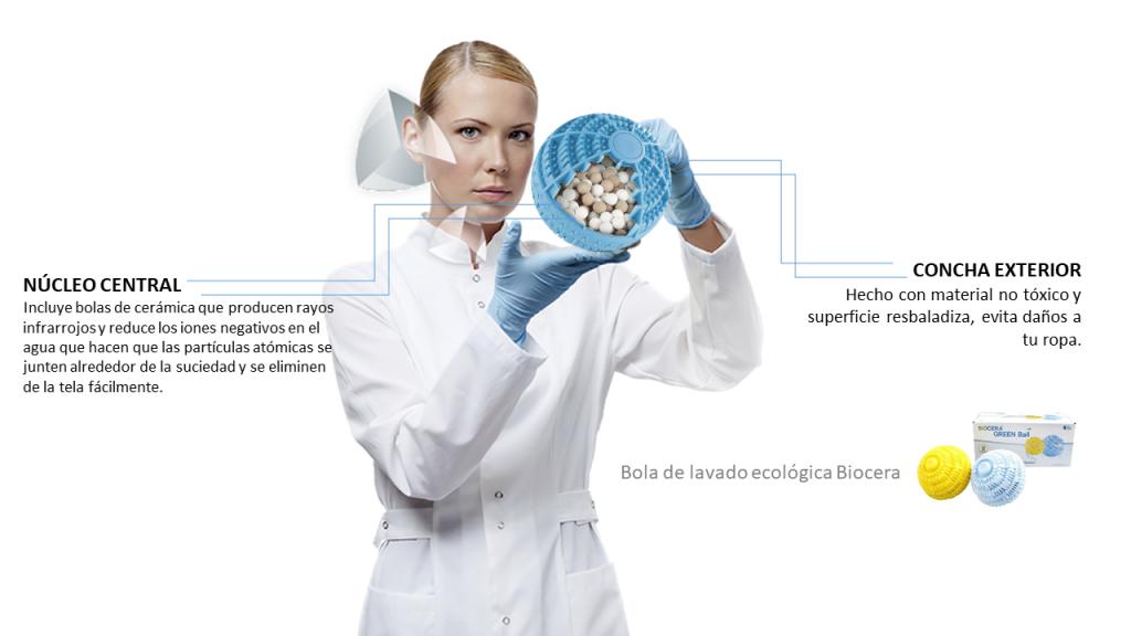 Bola de lavado ecológica Biocera