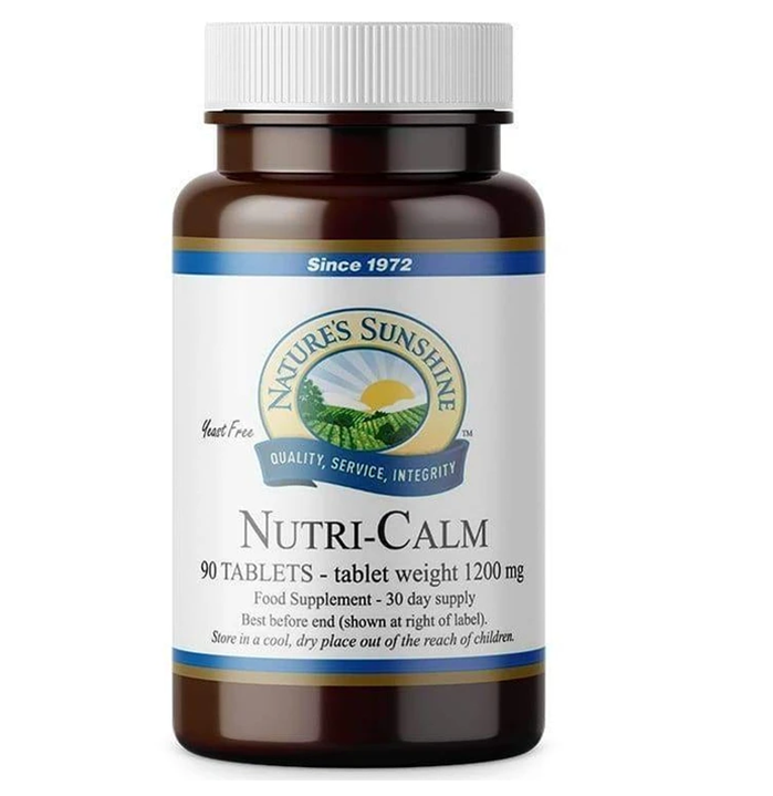 Nutri-Calm 90 Tablets Nature's Sunshine