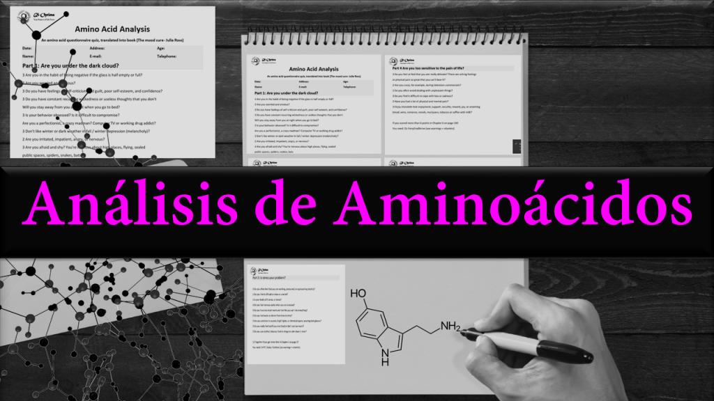 Página de servicios de análisis de aminoácidos