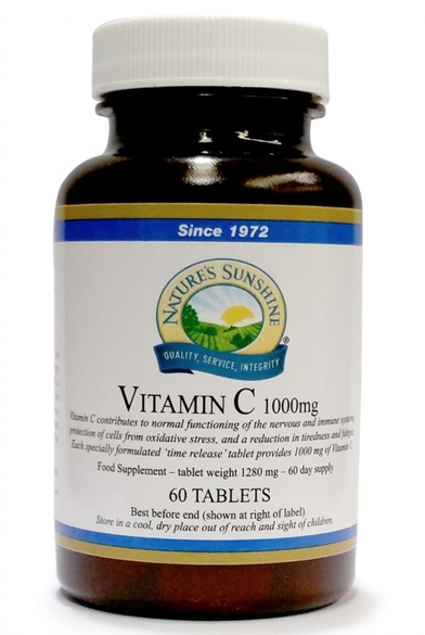 Vitamin C 1000mg T/R 60 Tablets