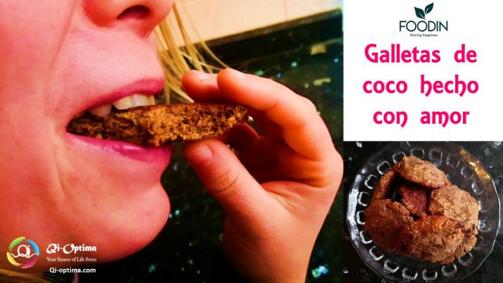 Galletas de coco deliciosas, saludables y rápidas